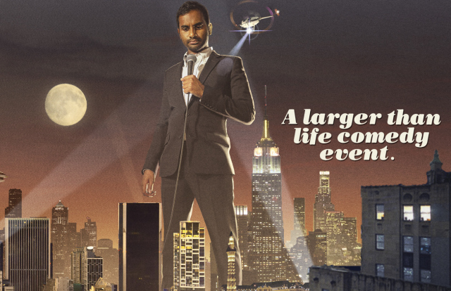 netflix and aziz ansari to release another comedy special