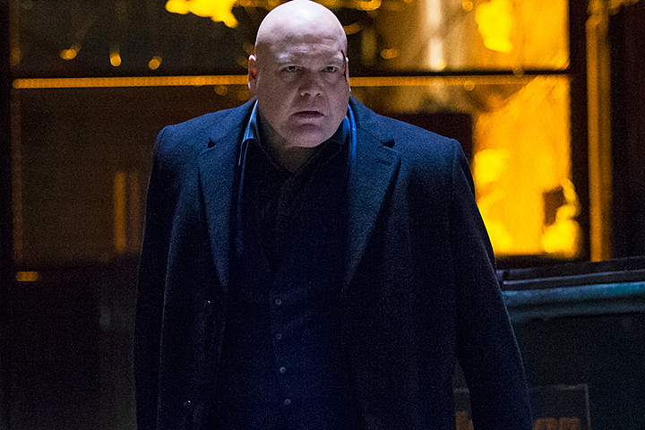 Daredevil Vs Kingpin Daredevil: Netflix sho...