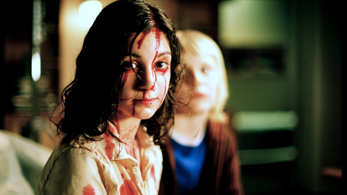 Let the Right One In, directed by Tomas Alfredson, 2008.