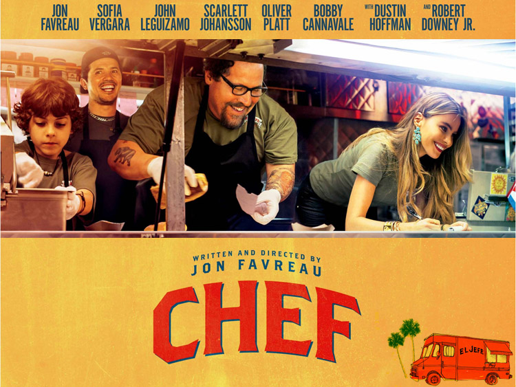Image result for Jon Favreau's Chef film posters