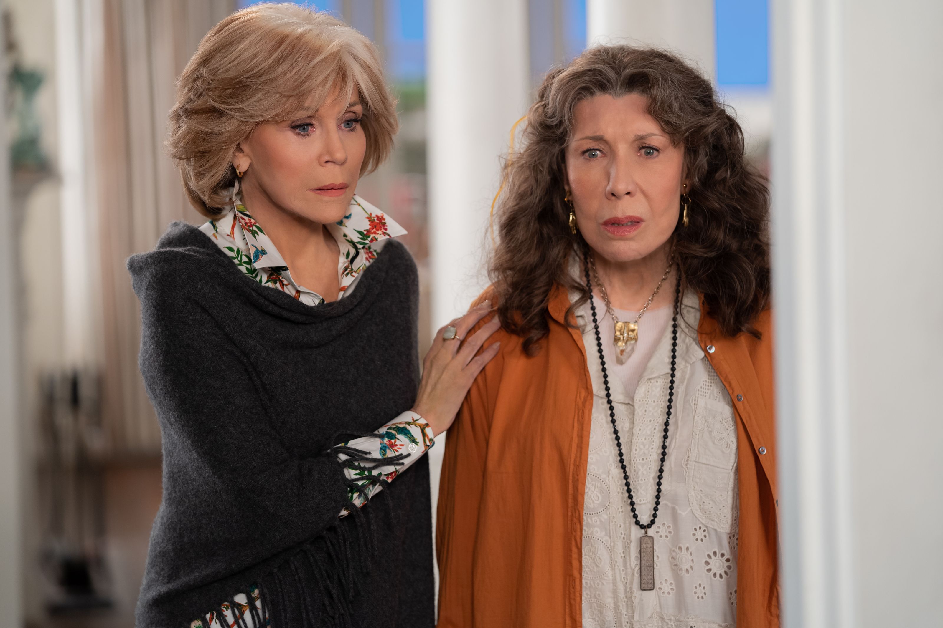 When will the rest of Grace and Frankie season 7 come out?