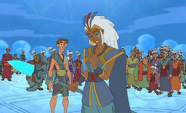 Kida Atlantis The Lost Empire Comics Pages